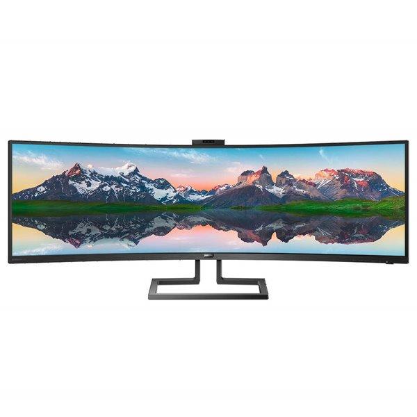 Monitors 499P9H 49in VA 5K Curve USBC HDMI DP