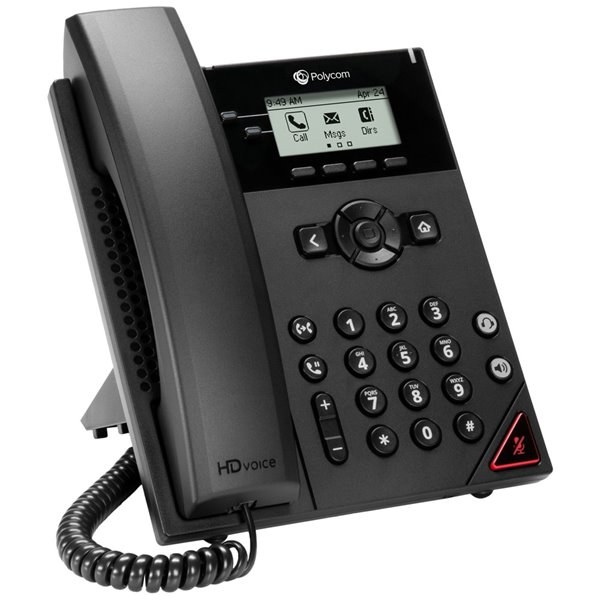 Telephones Polycom VVX 150 2 Line Desktop IP Phone