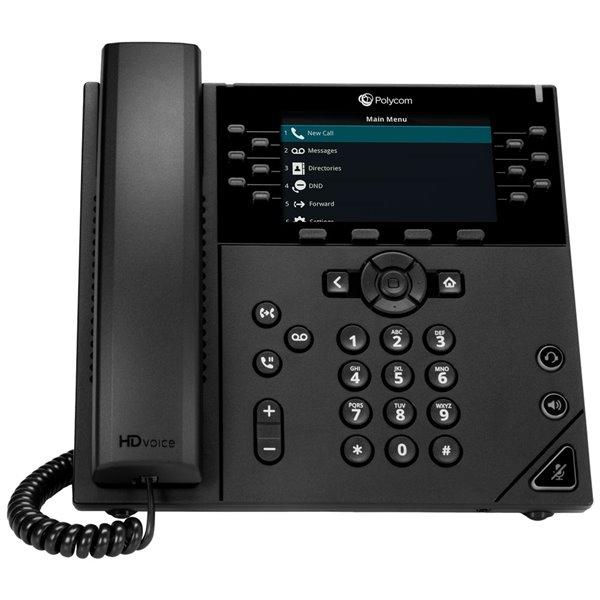Telephones Polycom VVX 450 12 Line Desktop IP Phone