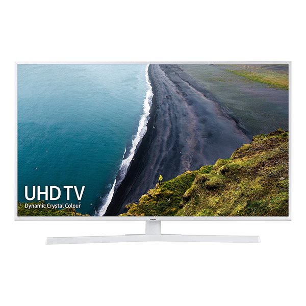Televisions & Recorders Samsung RU7410 4in 4K Smart UHD TV White