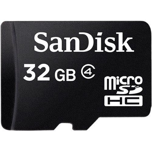 Internal Computer Expansion Sandisk 32GB MicroSDHC Class 4
