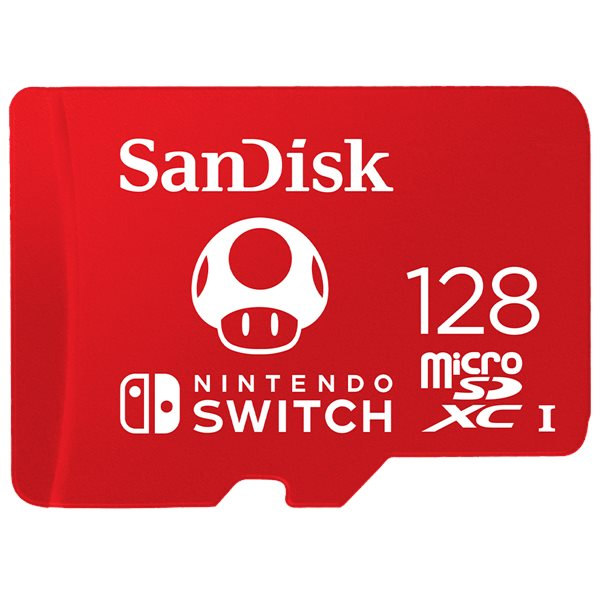 Hard Drives Sandisk 128GB Nintendo Switch MicroSDXC