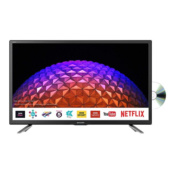 Televisions & Recorders Sharp 24in HD Ready Smart LED TV