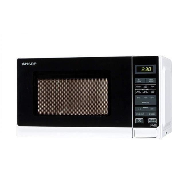 Kitchen Appliances Sharp R272WM Microwave Black White 800W