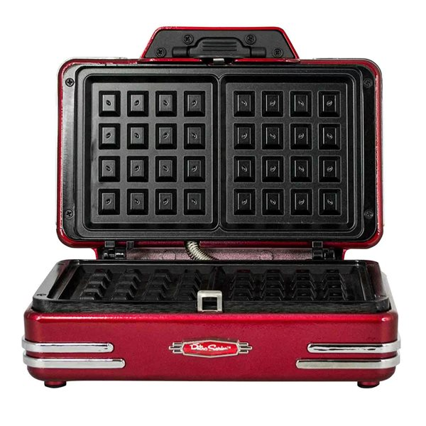 Tea / Coffee / Sugar Storage SMART Retro Waffle Maker