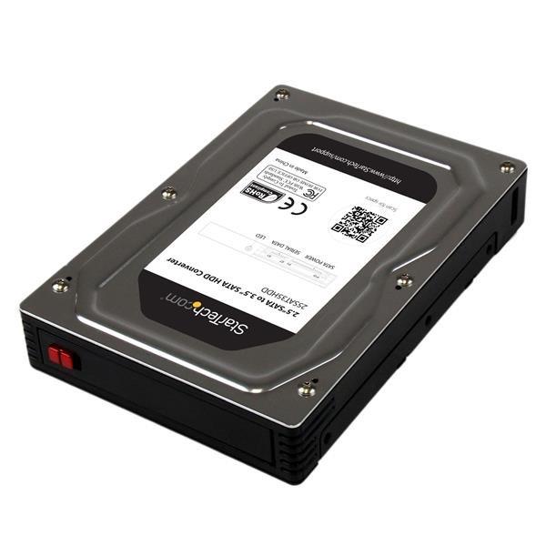 Hard Drives 2.5 to 3.5 SATA HDD Adapter Enclosure