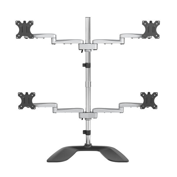 Accessories Up to 32 Inch Quad Monitor Stand