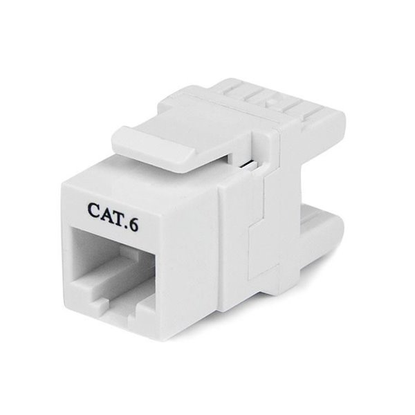 Cables / Leads / Plugs / Fuses Startech 180 Degree Cat 6 Keystone Jack RJ45