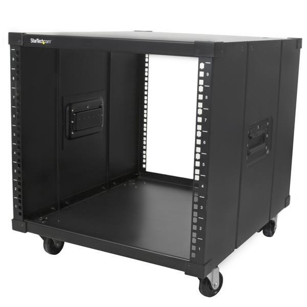 Servers 9U Portable Server Rack with Handles