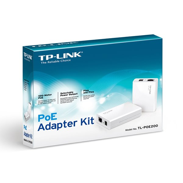 TP Link Power over Ethernet Adapter