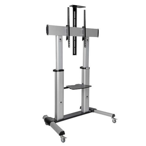 Televisions & Recorders 60in to 100in Mobile TV Floor Stand Cart