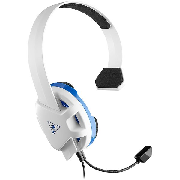 Headphones Recon Chat PS4 White and Blue Headset