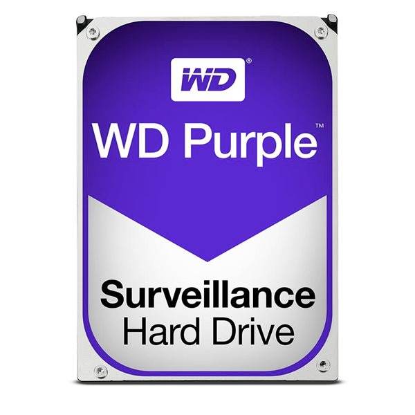 WD HDD Int 3TB Purple Sata 3.5 Inch HDD