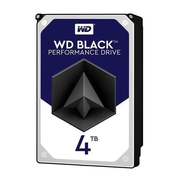 WD HDD Int 4TB Black SATA 3.5