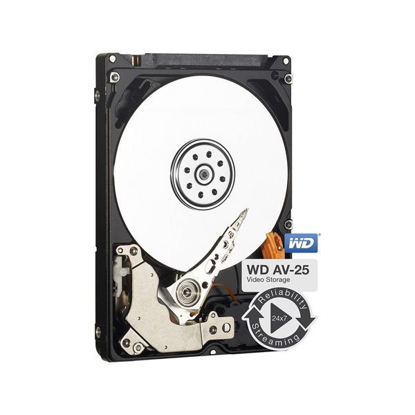 WD 500Gb Av25 2.5 Inch 7Mm 5400Rpm HDD