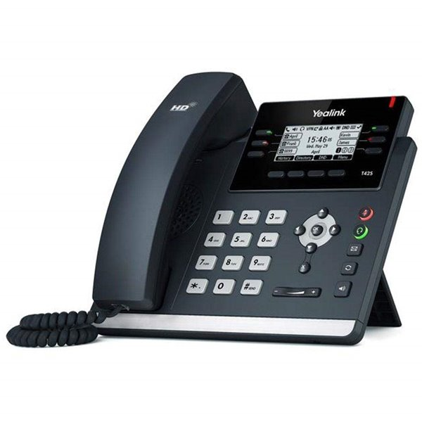 Telephones Yealink SIP T42S 12 Line Wired Phone