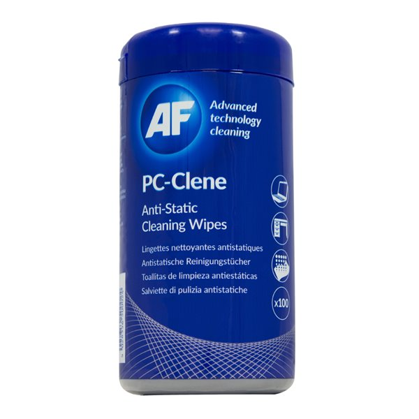 Screen AF PC-Clene Cleaning Wipes Tub 100