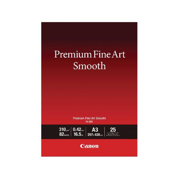 Specialist Canon FASMI A3 Fine Art Paper 25 Sheets