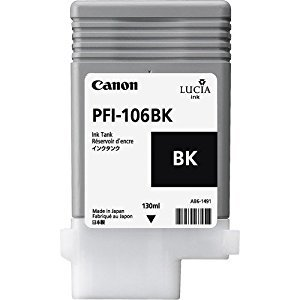 Canon 6621B001 PFI106 Black Ink 130ml