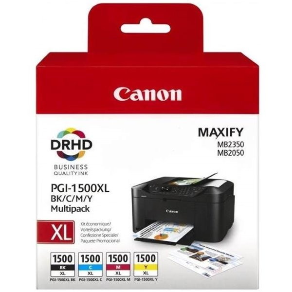 Canon 9182B004 PGI1500XL CKMY Ink 34ml 3x12ml Multipack