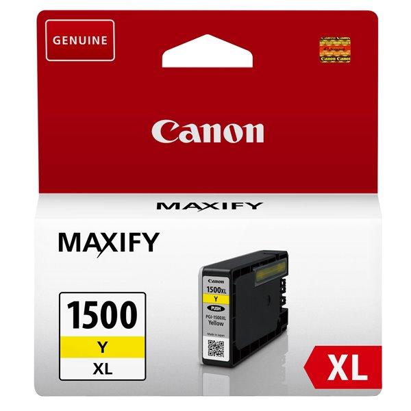 Canon 9195B001 PGI1500XL Yellow Ink 12ml