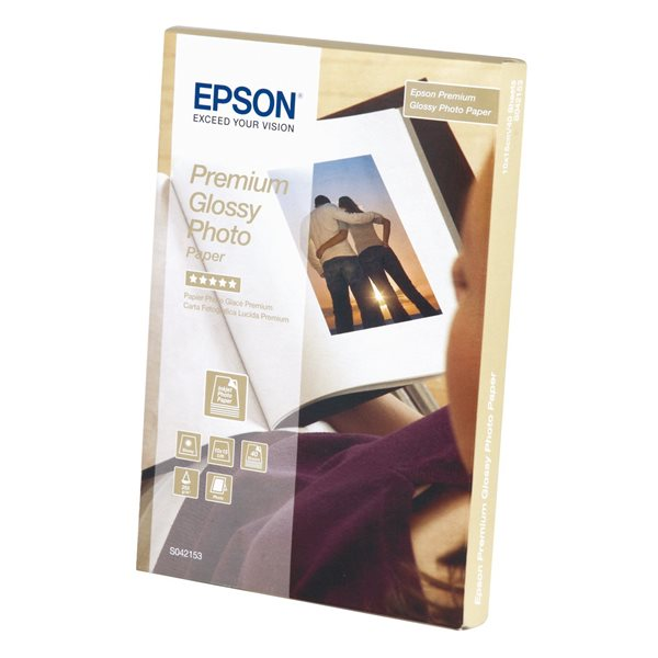 Photo Paper Epson C13S042153 Glossy Photo Paper 10x15cm 40 Sheets
