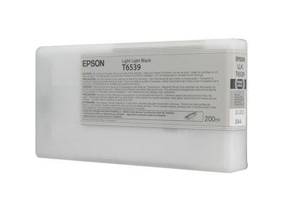 Printheads Epson C13T653900 T6539 Light Light Black Ink 200ml