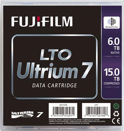 Data Tapes & Cartridges Fujifilm 16456574 LTO7 Blank Data Tape 6TB