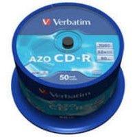 Verbatim CDR Crystal 700MB Spindle of 50