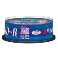 Verbatim DVD-R 4.7GB Spindle of 25