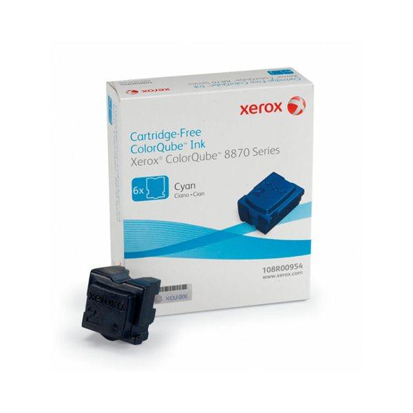 Xerox 108R00954 Cyan Solid Ink 17.3K 6 Pack