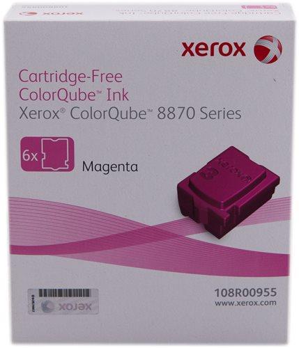 Xerox 108R00955 Magenta Solid Ink 17.3K 6 Pack