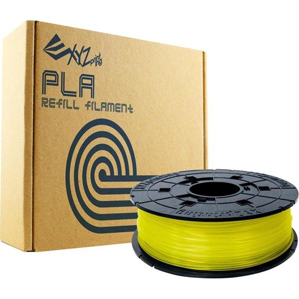 3D Printing XYZ PLA Filament 1 75 Clear Yel Refill